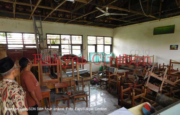 kondisi sekolah di kota cirebon rusak parah