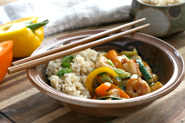 Easy and flavourful, it can be made with seafood or meat and can be served over rice or noodles.