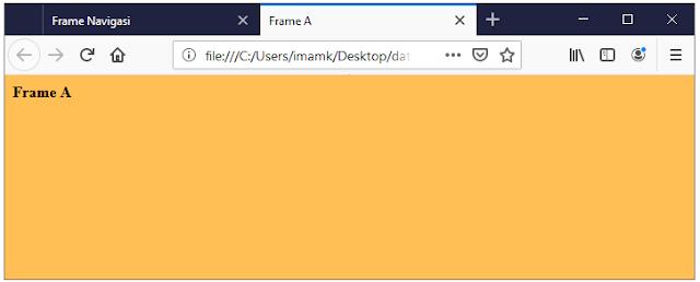 Output frame A