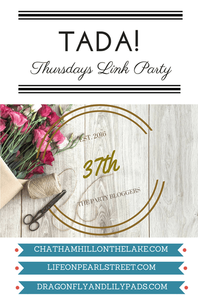 Featured on TADA! Thursdays Link Party