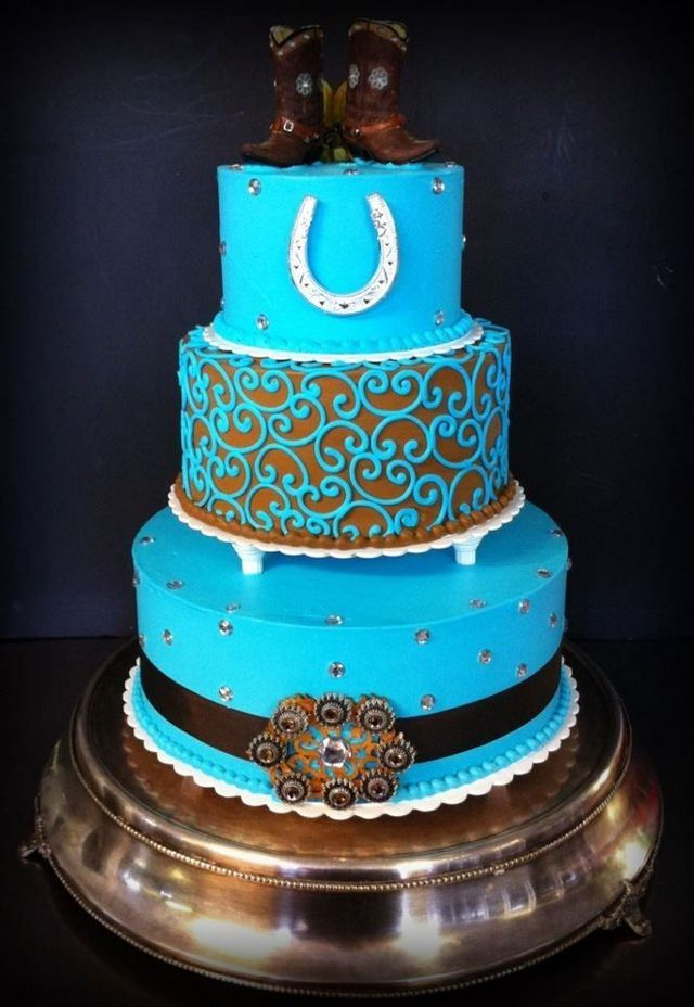 Best Collection of Epic Western Wedding Cakes | Wedding Celebration