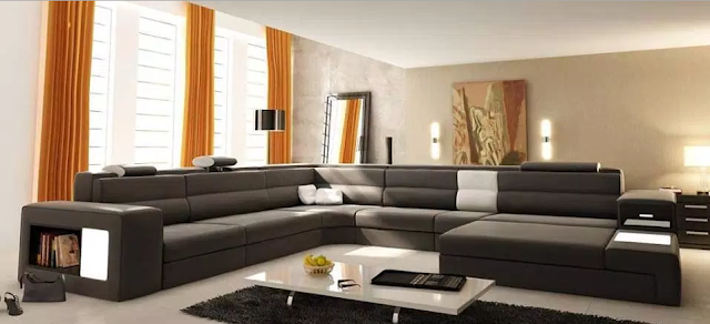 Fresh Color On Beautiful Living Room Design