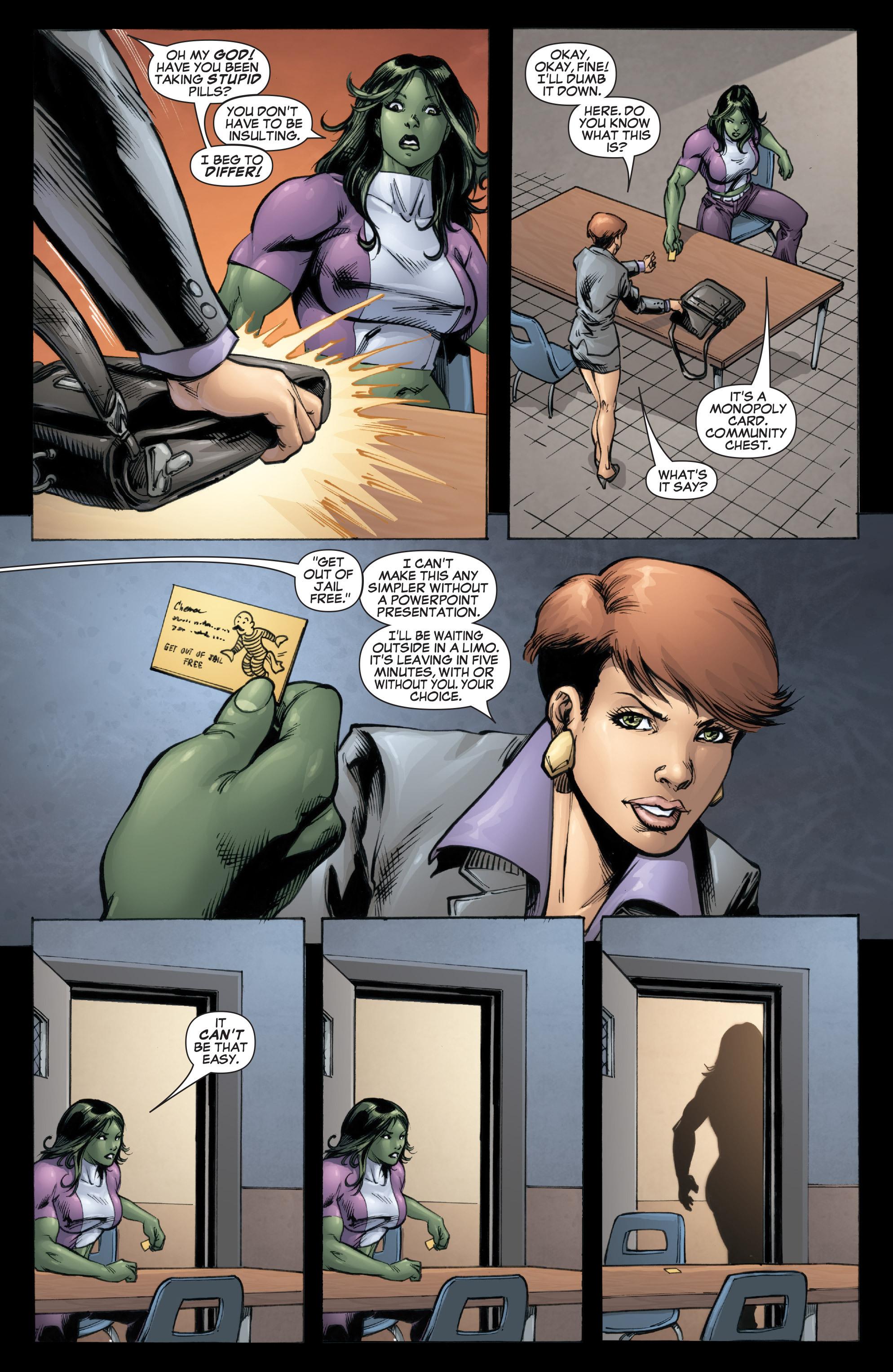 Read online She-Hulk (2005) comic -  Issue #37 - 11