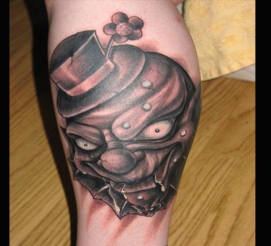 whatevercathieb: clown tattoos designs pictures