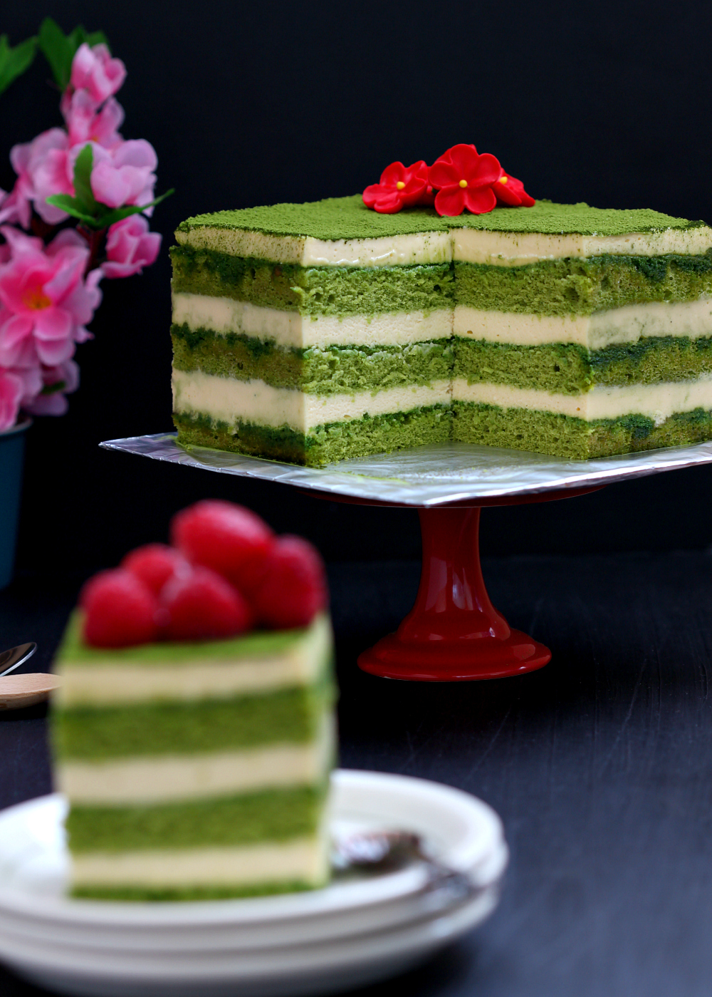 my bare cupboard matcha tiramisu cake. Black Bedroom Furniture Sets. Home Design Ideas