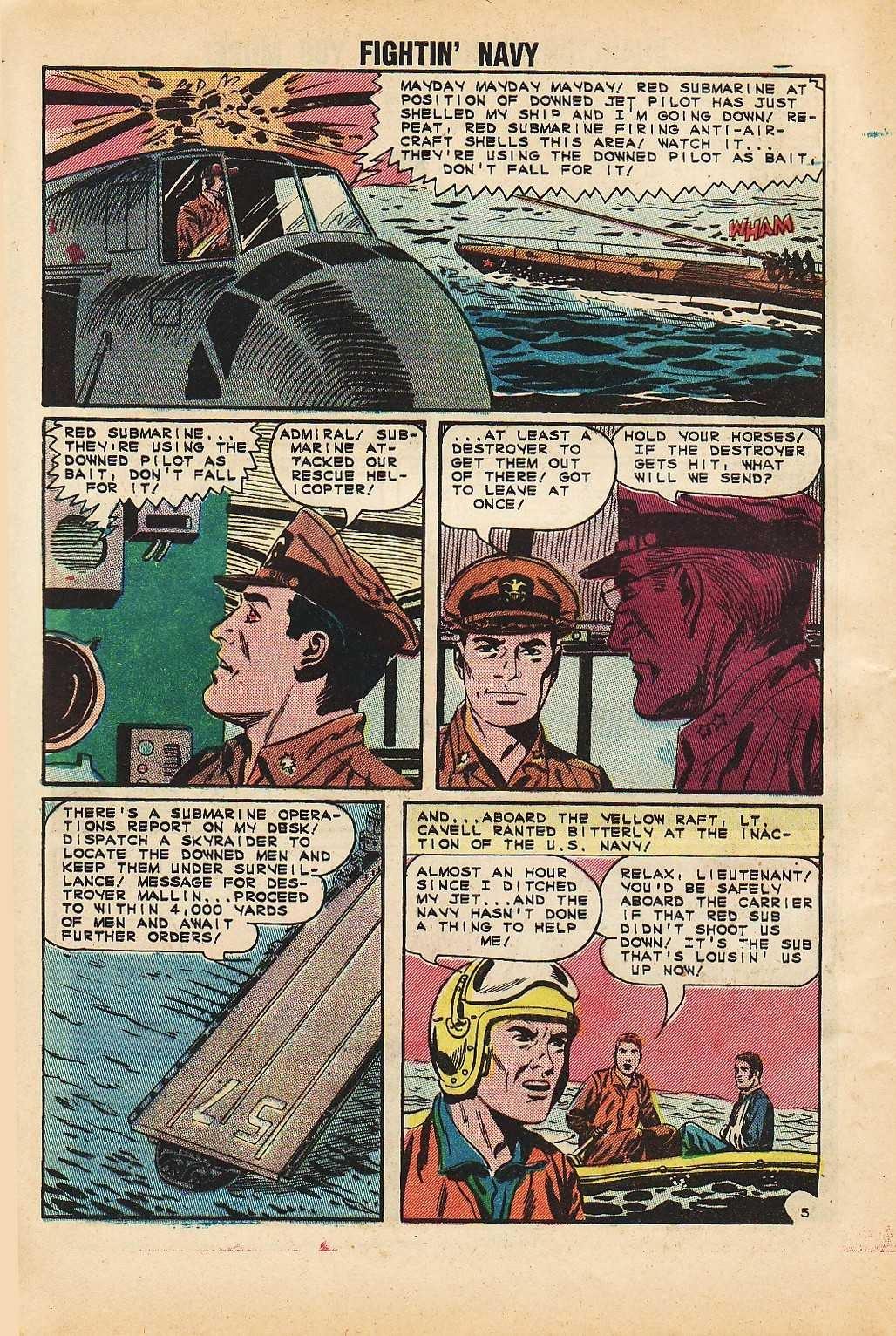 Read online Fightin' Navy comic -  Issue #116 - 8