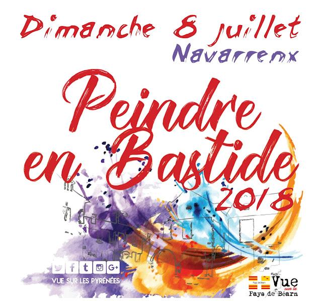 Peindre en Bastide Navarrenx 2018