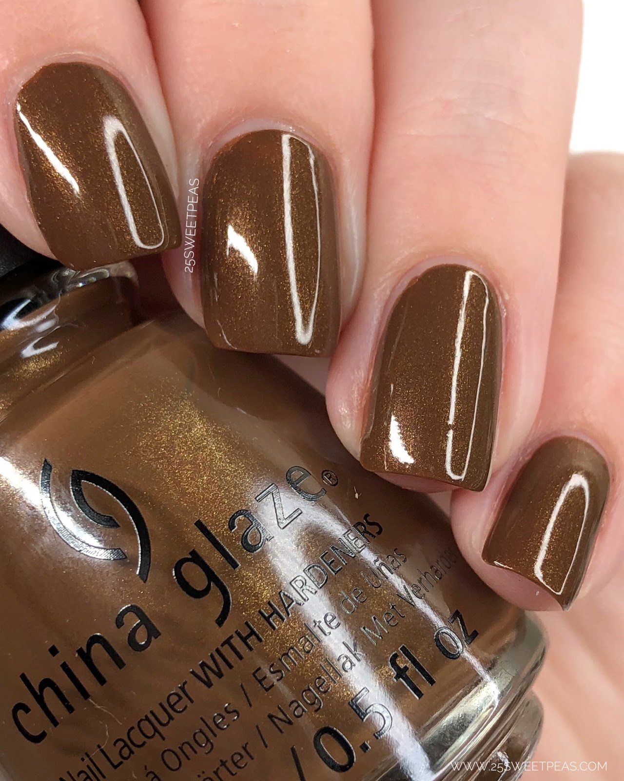 China Glaze Bronze Ambition 25 Sweetpeas