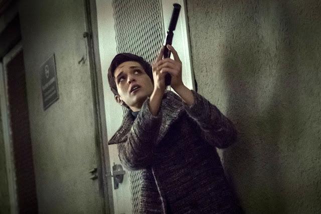 Sara Serraiocco in Counterpart, Mysterious Assassin
