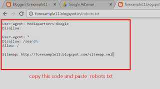 how to add custom robots.txt in blogger hIndi