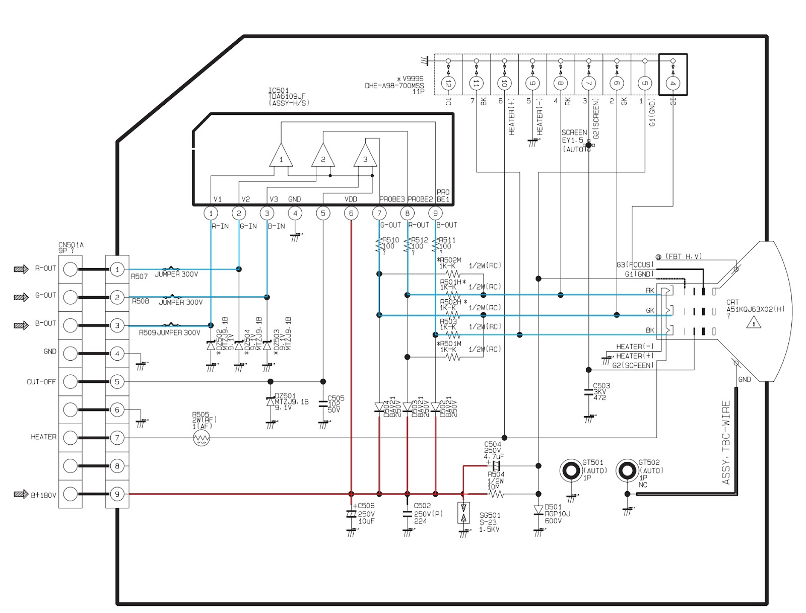 toshiba schematic diagram