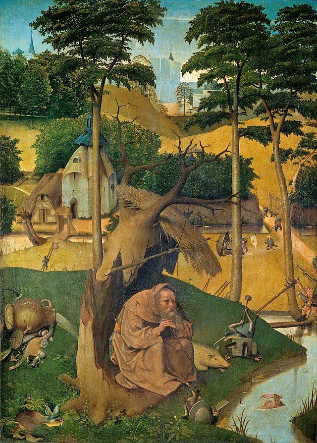 A Tentação de Santo Antônio - Bosch, Hieronymus e suas principais pinturas