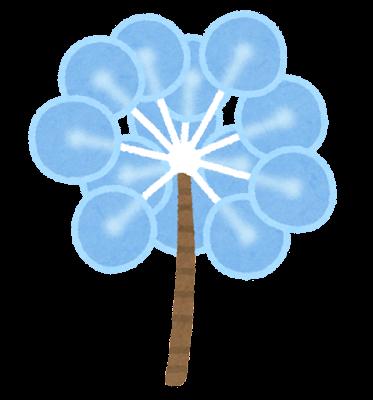 ピンポンツリースポンジのイラスト