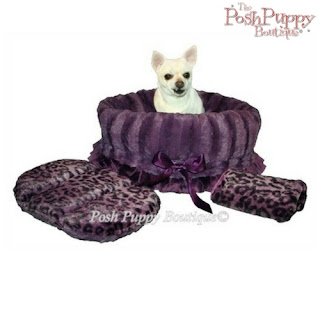REVERSIBLE 3-IN-1 SNUGGLE BUG BED CARRIER- PURPLE CHEETAH
