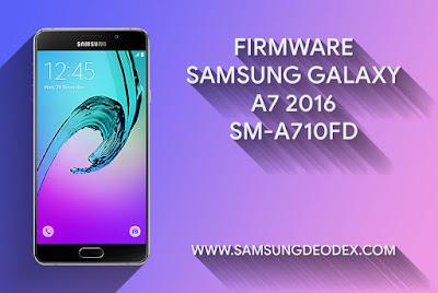Samsung Firmware A710FD A7 2016