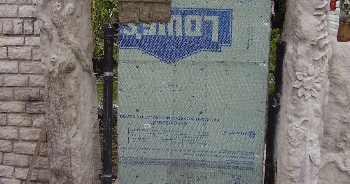 Low Rent Renaissance Vermiculite Concrete Gate 1