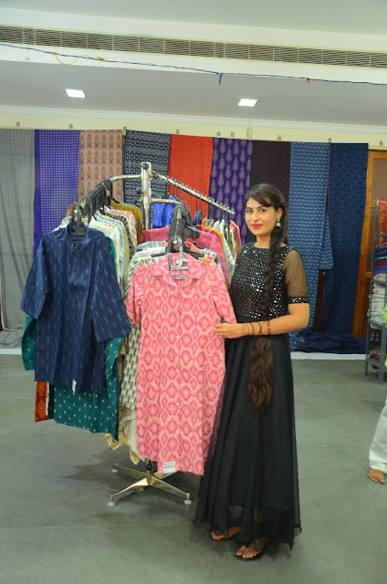 Actress Priya Chowdary Inaugurates IKAT Art Mela