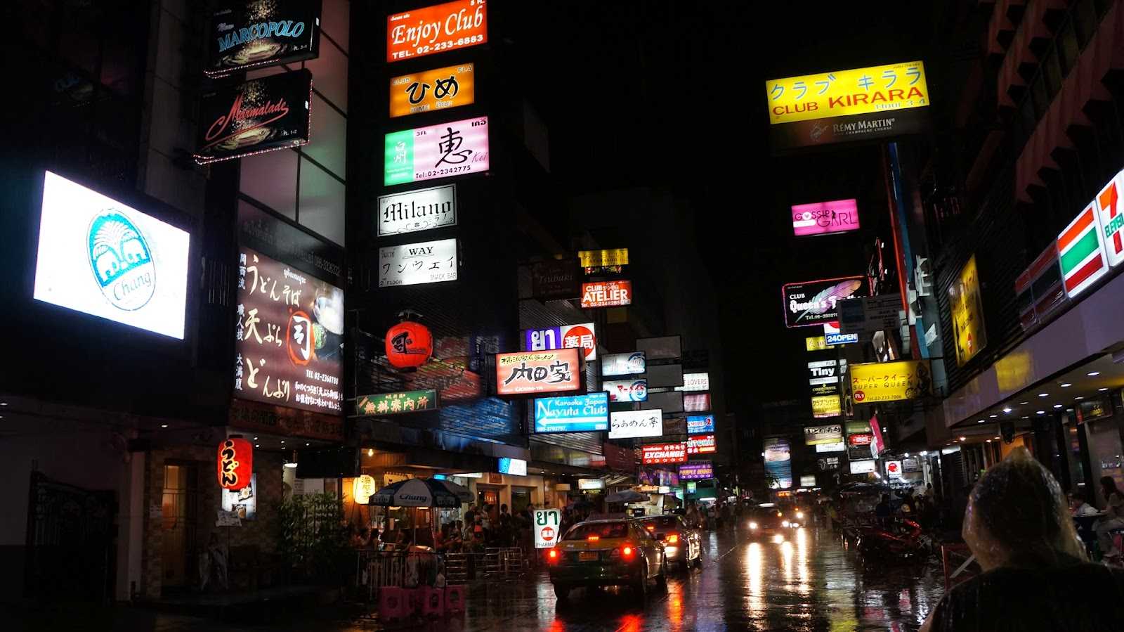 Patpong, one of Bangkok's infamous red light districts