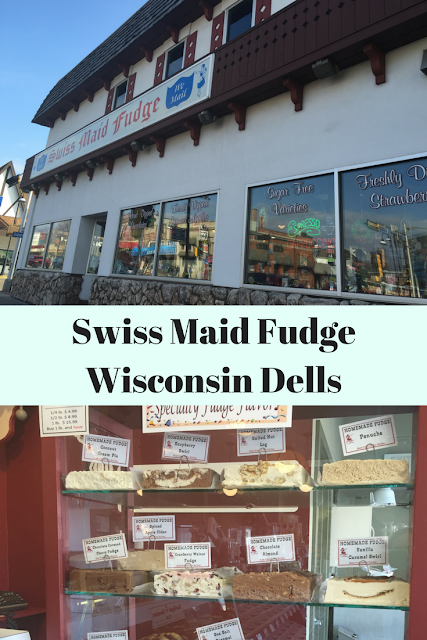 Locally Hand Made Chocolate at Swiss Maid Fudge in Wisconsin Dells