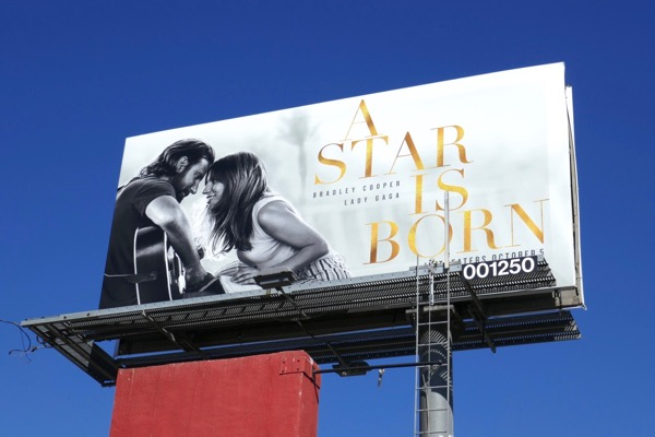 A Star is Born remake billboard