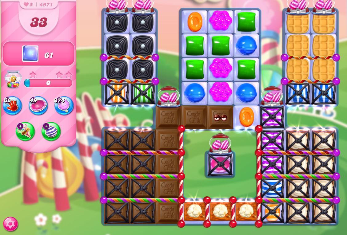 Candy Crush Saga level 4971