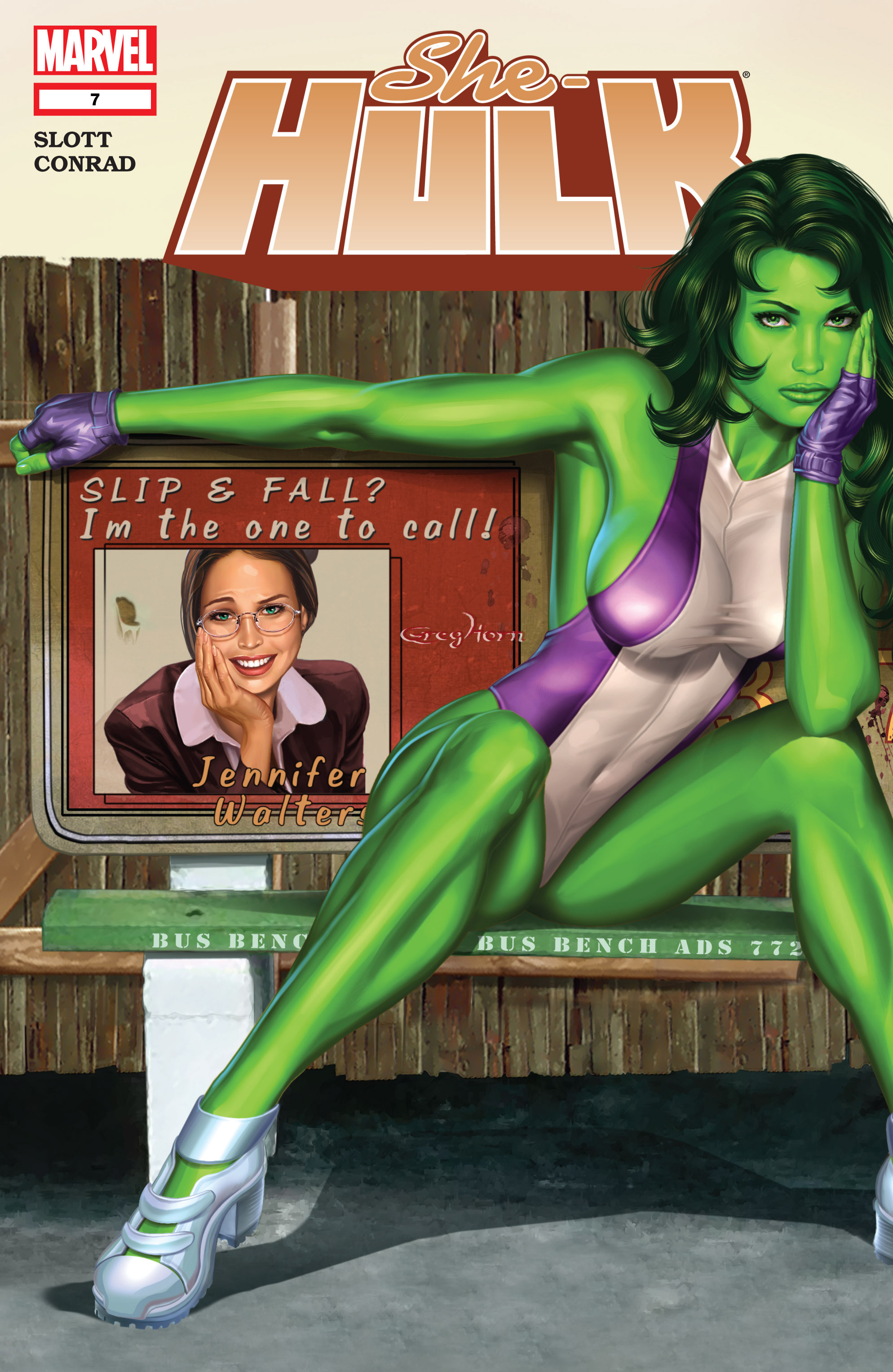 Read online She-Hulk (2005) comic -  Issue #7 - 1