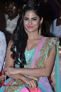 Actress Naina Ganguly Stills in Long Dress at Vangaveeti Audio Launch  0058.JPG
