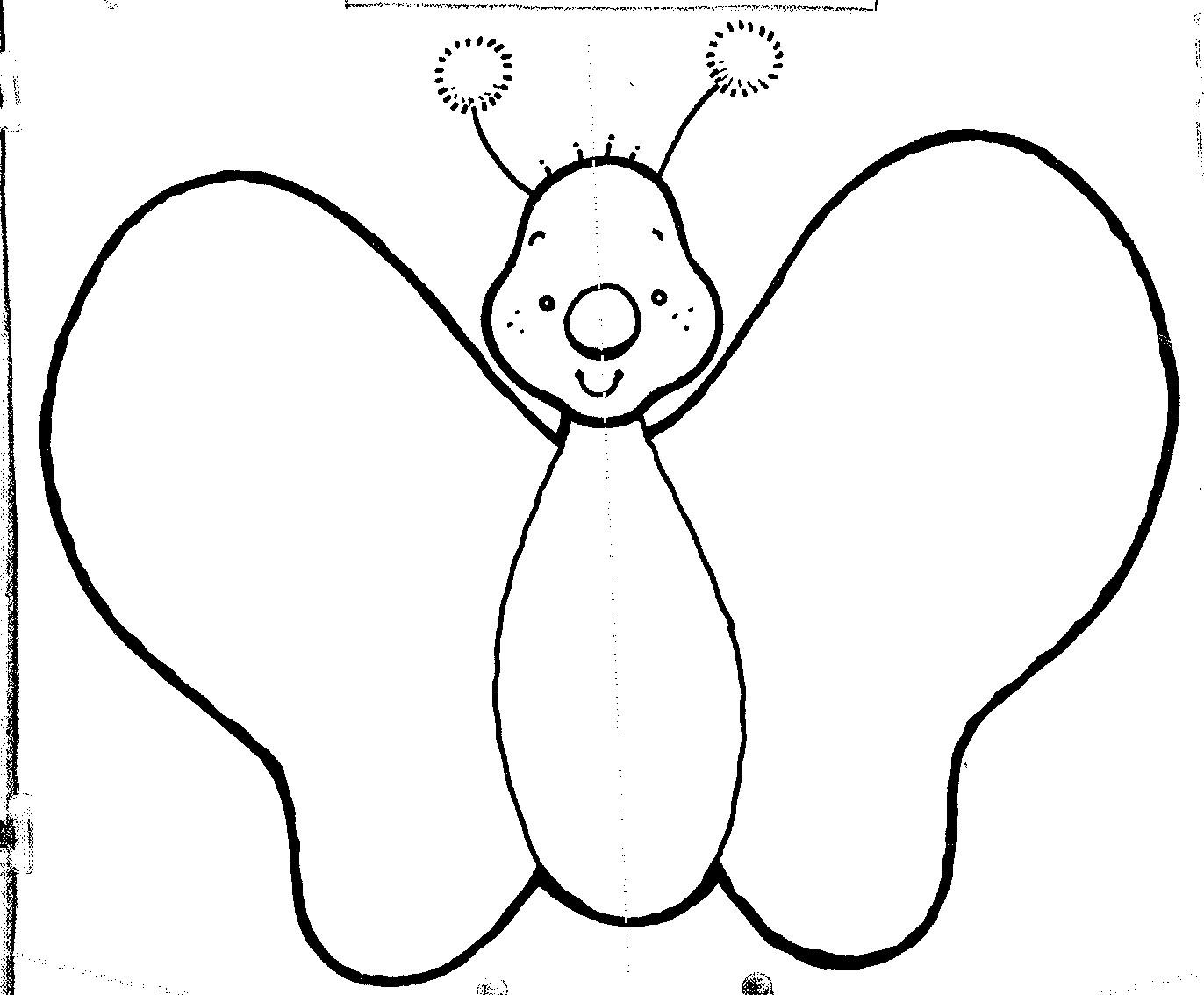 Magnífico Plantilla Imprimible Mariposa Galería - Colección De ...