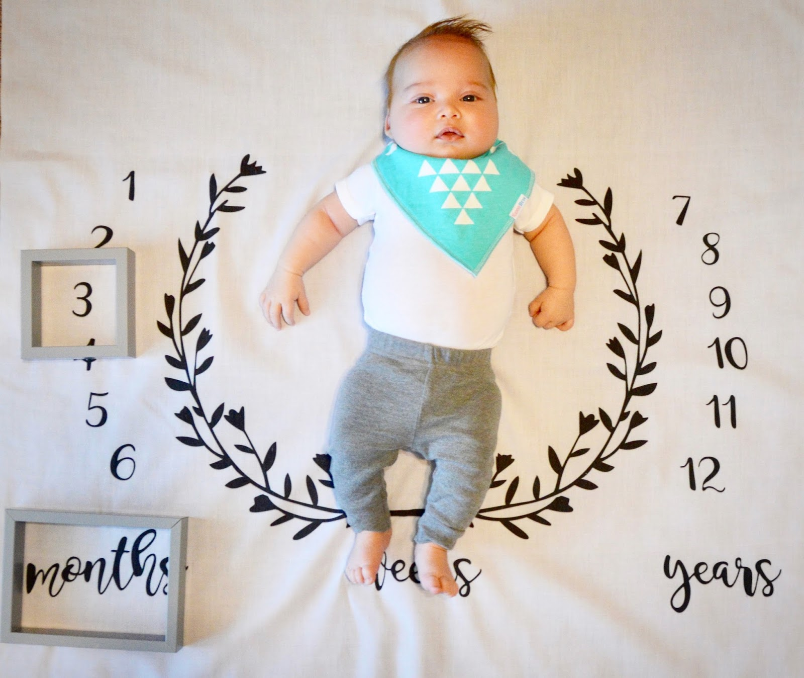 Spear is 3 Months Old!