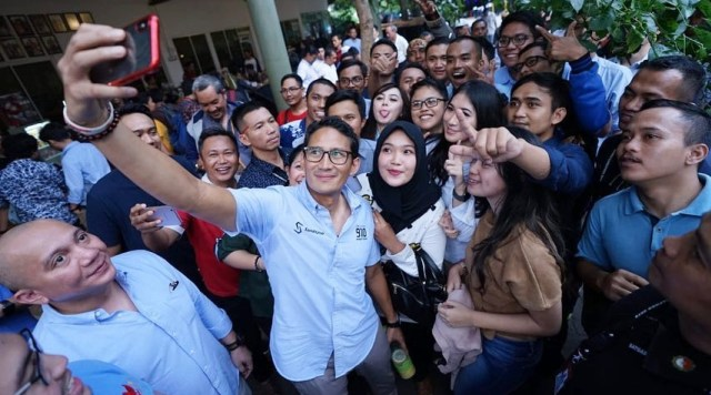 Kuasai Basis Merah, Prabowo-Sandi Pindahkan Markas Perjuangan dari Jakarta ke Jawa Tengah
