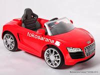 Mobil Mainan Aki Junior W458 Audi R8 XL
