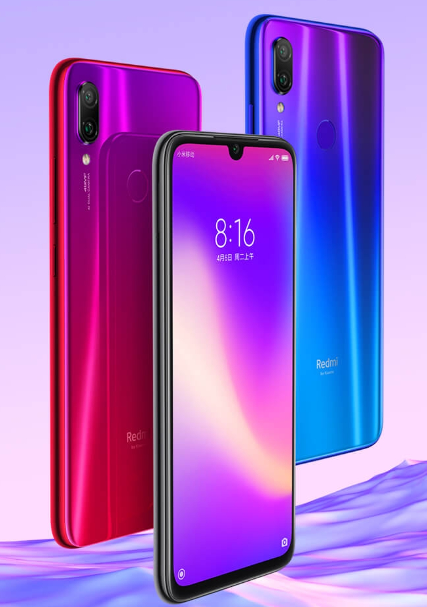 Redmi Note 7 pro with 128GB ROM, Dual rear camera setup