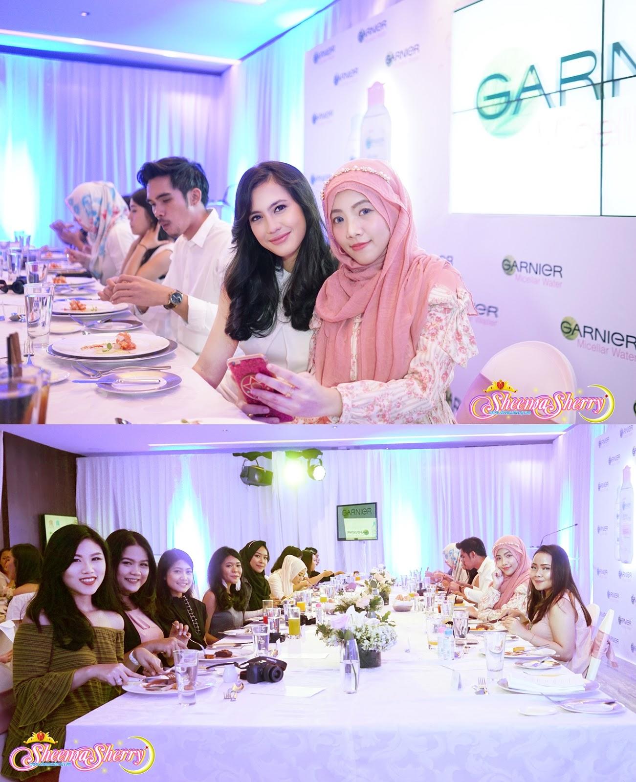 PAJAMA PARTY! Garnier Micellar Water Launching @ Grand Hyatt Jakarta, Indonesia Kawaii Hijabi Sheemasherry Sheema Sherry