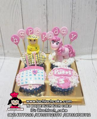 Cupcake Ulang Tahun Untuk Anak Cewek My Little Pony