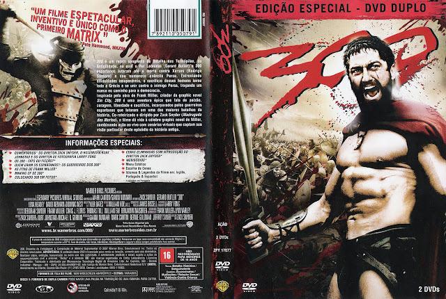 Capa DVD 300 (Edição Especial - DVD Duplo)