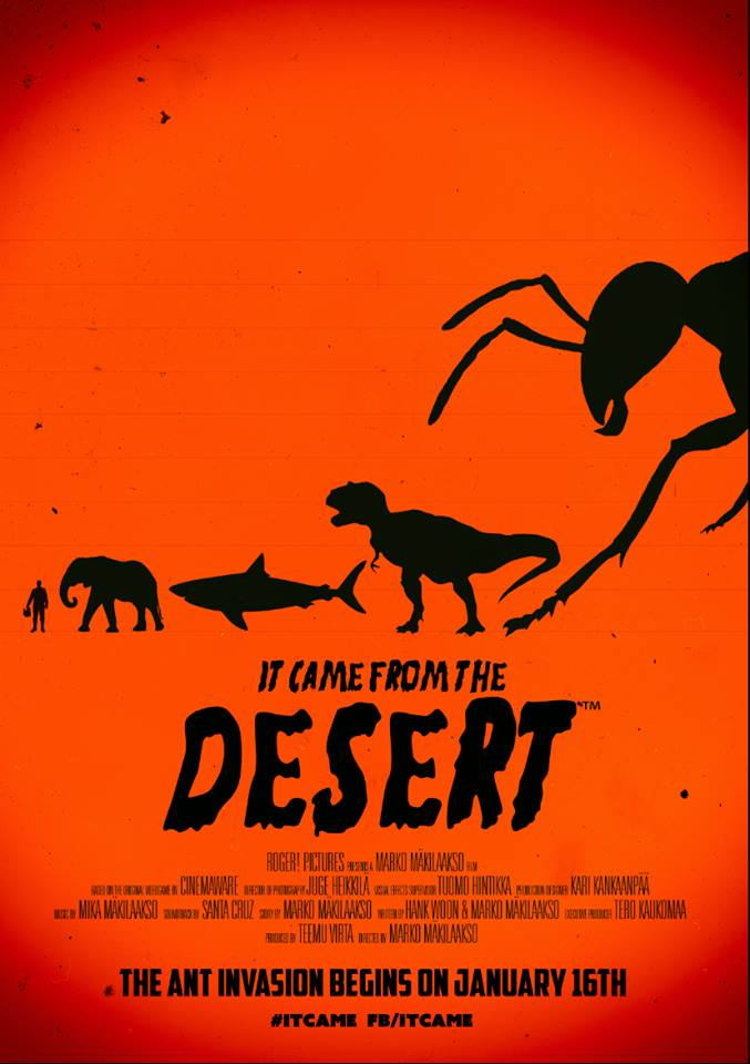 Indie Retro News It Came From The Desert
