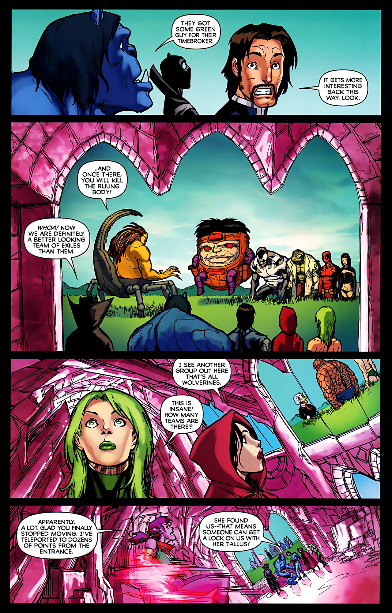 Read online Exiles (2009) comic -  Issue #6 - 23