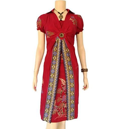 Desainer Baju Batik Wanita: 39 Koleksi Baju Batik Wanita Modern Trendy 2019