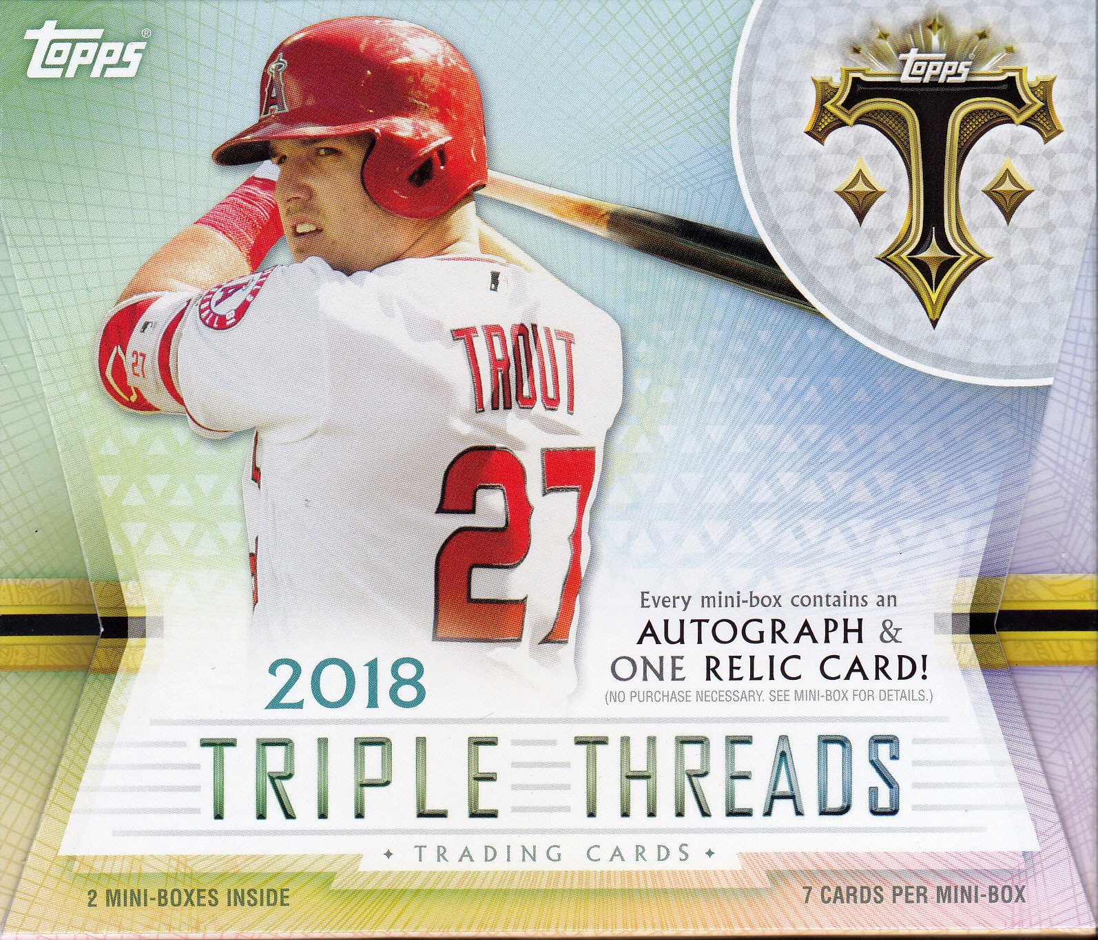 2018 Topps Triple Threads Baseball Review Box Break Parallels