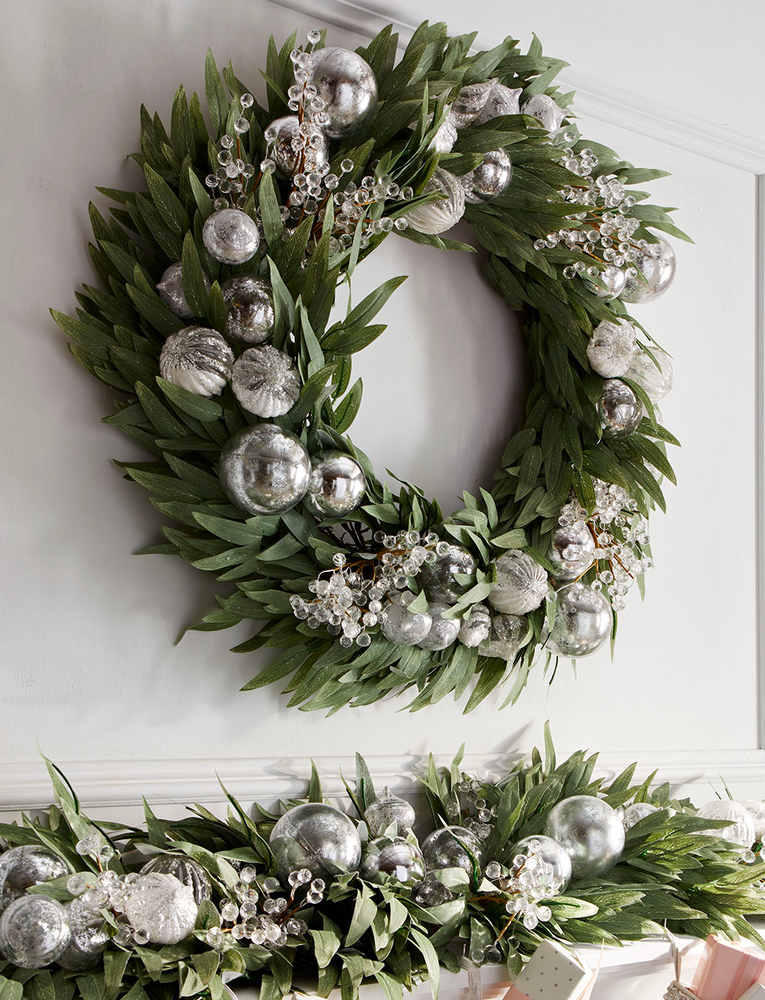 Neiman Marcus Crystal Wreath