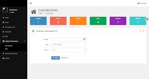 Sistem Informasi Penjadwalan Laboratorium menggunakan PHP mysql