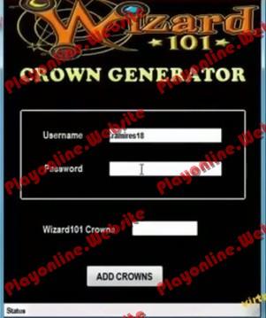 Wizard101 Crown Generator No Surveys free download