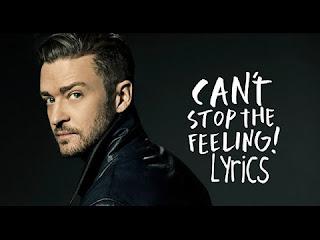 Can't Stop The Feeling Lyrics