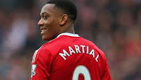 anthony martial mu everton 1-0