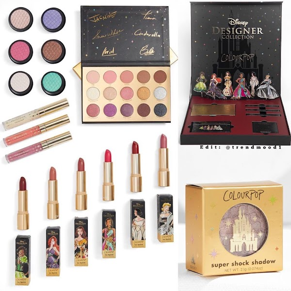 ColourPop x Disney Designer Makeup Collaboration