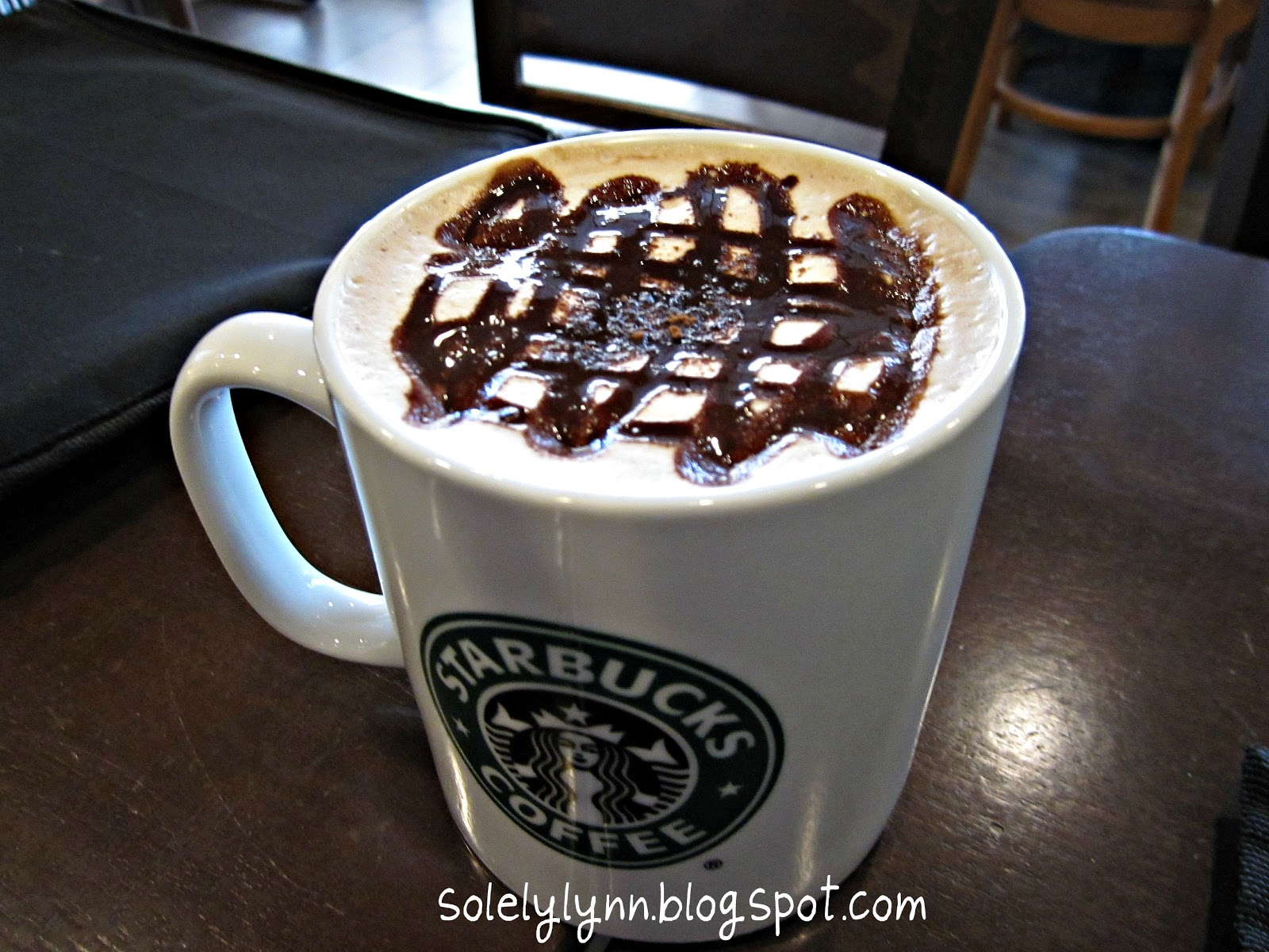 One day at a time: Cocoa Cappucino @ Starbucks