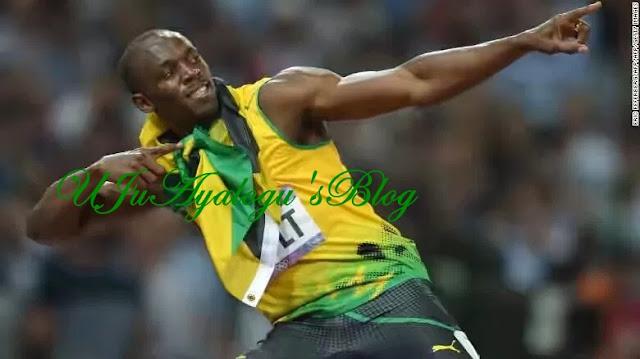 I have signed for a football club – Usain Bolt announces