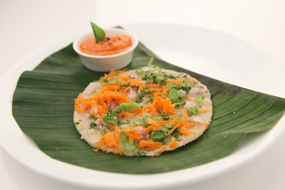 Carrot Onion Uthappam