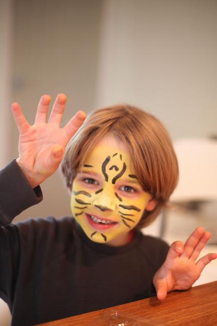 lion facepaint